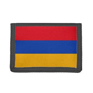 Armenian Flag Trifold Wallet
