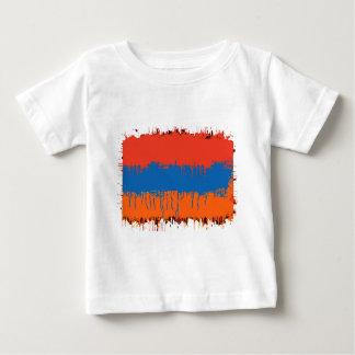 Armenian FlagSplat Baby T-Shirt