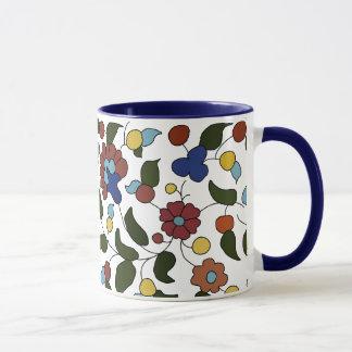 Armenian Floral Pattern Mug