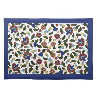 Armenian floral pattern placemat