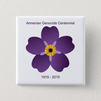 Armenian Genocide Centennial Emblem 15 Cm Square Badge