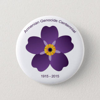 Armenian Genocide Centennial Emblem 6 Cm Round Badge