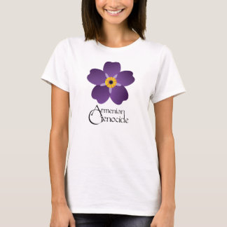Armenian Genocide Forget Me Not Womans Tshirt 1
