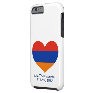 Armenian Heart |Cell Phone Case | iPhone 6/6s