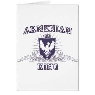 Armenian King Card