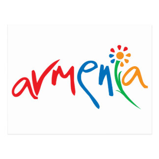 Armenian Official Logo Postcard