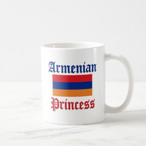 Armenian Princess Basic White Mug