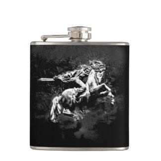Armenian Vinyl Wrapped Flask Սասունցի Դավիթ