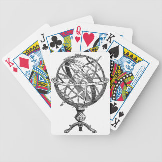 Armillary Celestial Sphere Bicycle Playing Cards