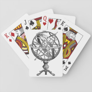 Armillary Celestial Sphere Playing Cards