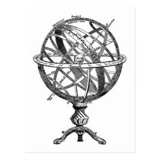 Armillary Celestial Sphere Postcard