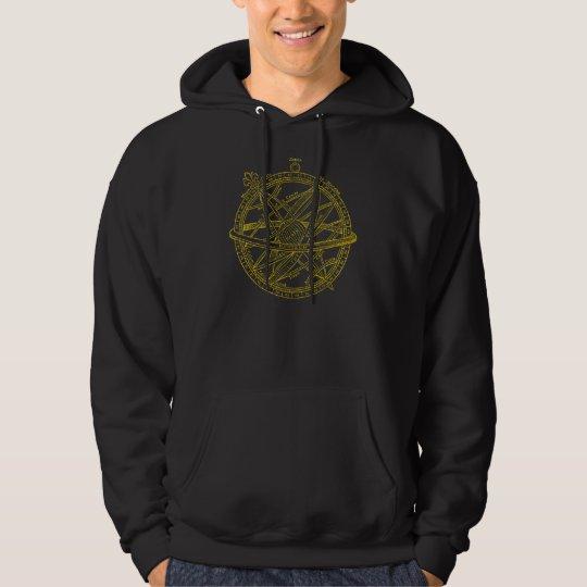 Armillary sphere hoodie
