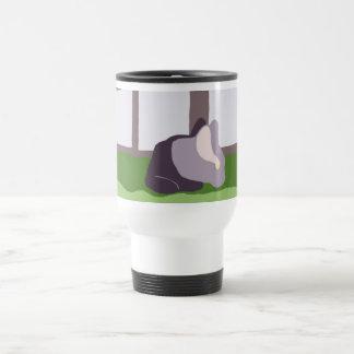 Armond in yard mug