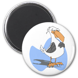 Armondo Albatross 6 Cm Round Magnet