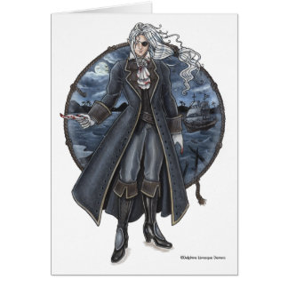 Armond's Letter Gothic Pirate Note Card