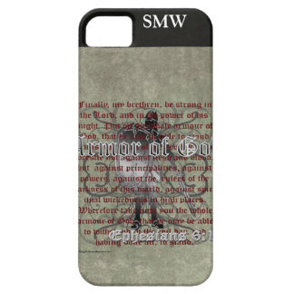 Armor of God, Ephesians 6:10-18, Christian Soldier iPhone 5 Cover