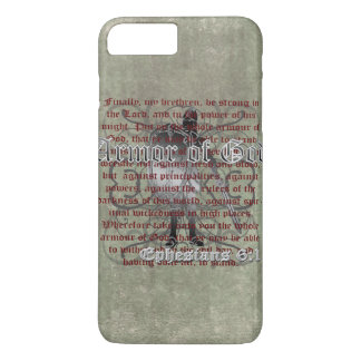 Armor of God, Ephesians 6:10-18, Christian Soldier iPhone 7 Plus Case
