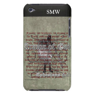 Armor of God, Ephesians 6:10-18, Christian Soldier iPod Touch Covers