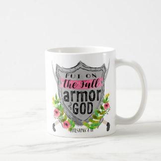 Armor of God Pink Coffee Mug