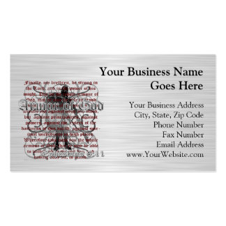 Armor of God Soldier Business Card Templates