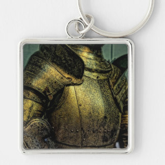 Armor of Medieval Knight Key Ring
