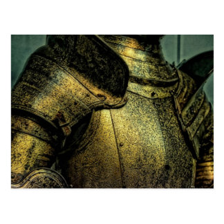 Armor of Medieval Knight Postcard