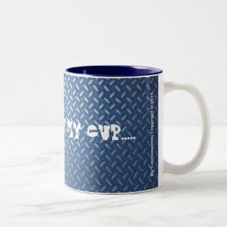 ARMORED  COCCOCUP Two-Tone COFFEE MUG