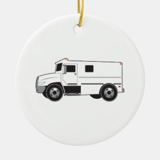 Armored Truck Christmas Ornament