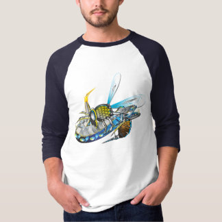 Armored Wasp vs Electric Eel T-Shirt