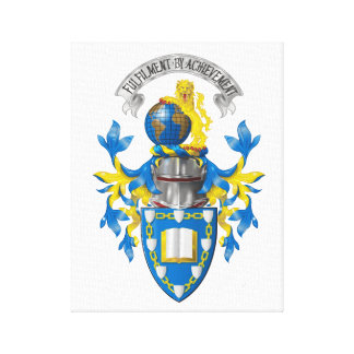 Armorial Register Canvas Print