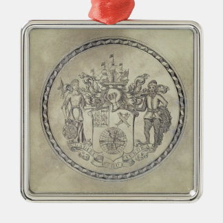 Armorials of the South Sea Company Christmas Ornament