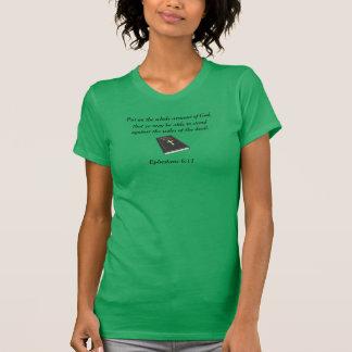 Armour of God AA Fine Jersey w/Bible T-Shirt