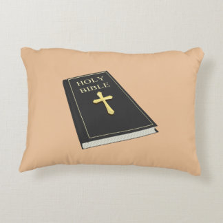 Armour of God Accent Throw Pillow w/Bible