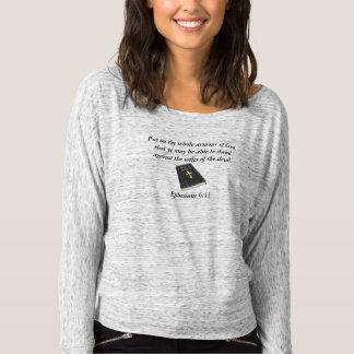 Armour of God Bella Off Shoulder w/Bible T-Shirt