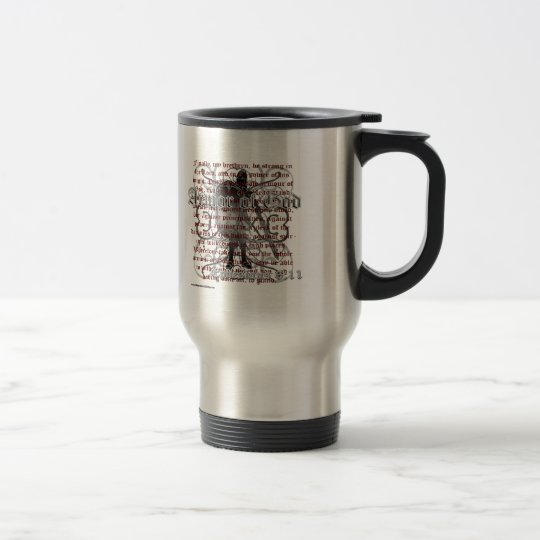Armour of God Christian Bible Verse Steel Mug