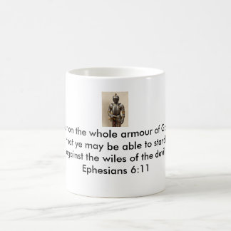 Armour of God Coffee Mug w/Armour