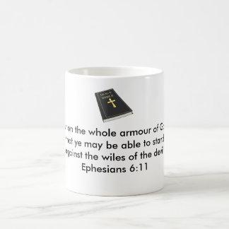 Armour of God Coffee Mug w/Bible