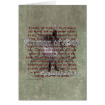 Armour of God, Ephesians 6:10-18, Christian Soldie Greeting Card