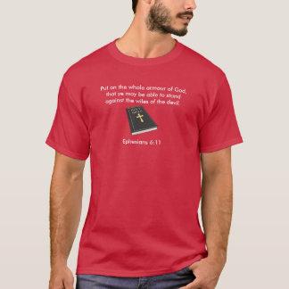 Armour of God Men's Short-Sleeve T-Shirt w/Bible