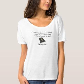 Armour of God Slouchy Boyfriend T-Shirt w/Bible