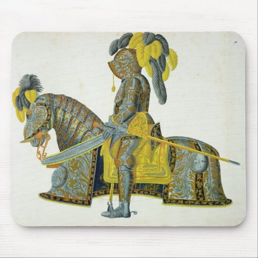 Armour worn by Electorate Christian I, plate from Mousepad