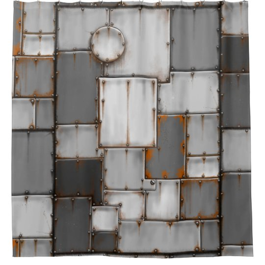 Armoured Shower Curtain ( Rusty )