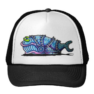 Armoured Whale Cap Mesh Hat
