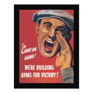 Arms For Victory World War 2 21.5 Cm X 28 Cm Flyer