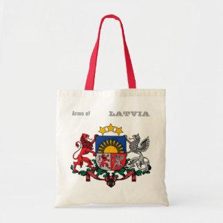 Arms of LATVIA Tote Bag