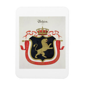 Arms of the Belgian Royal Family, from a collectio Magnets
