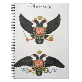 Arms the state of Imperial Russia, from a collecti Spiral Notebooks