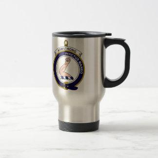 Armstrong - Clan Crest Reusable Travel Mug