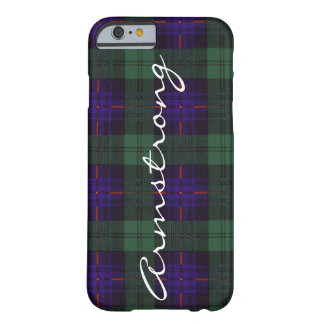 Armstrong clan Plaid Scottish tartan Barely There iPhone 6 Case