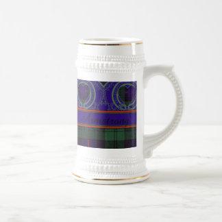 Armstrong clan Plaid Scottish tartan Beer Stein